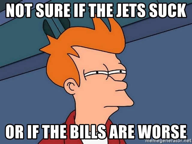 43085597 not sure if the jets suck or if the bills are worse futurama fry