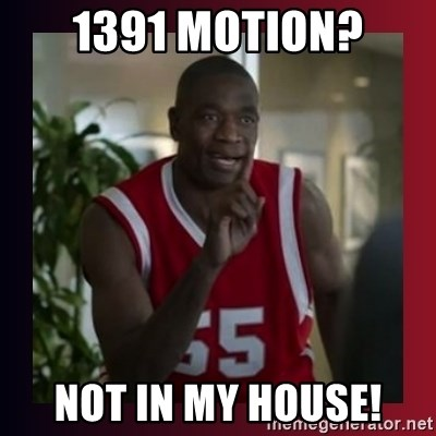 Dikembe Mutombo - 1391 Motion? Not In my house!