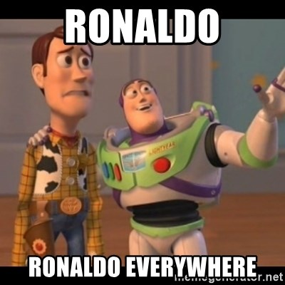 X, X Everywhere  - Ronaldo ronaldo everywhere
