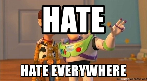 Consequences Toy Story - hate hate everywhere