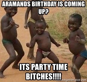 african children dancing - aramands birthday is coming up? its party time bitches!!!!