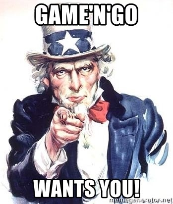 Uncle Sam - Game'n'Go Wants YOU!