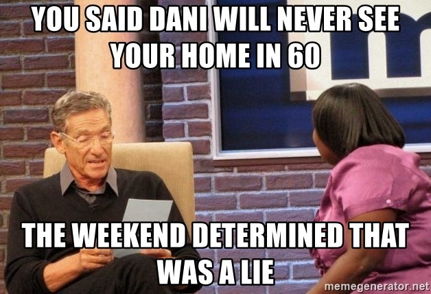 Maury Lie Detector - you said dani will never see your home in 60 the weekend determined that was a lie