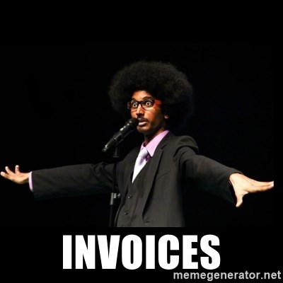 AFRO Knows -  invoices