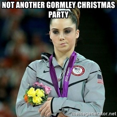 McKayla Maroney Not Impressed - Not Another Gormley Christmas Party