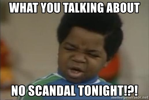 Gary Coleman II - What You Talking About No Scandal Tonight!?!