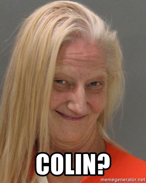Prison Lady Like Yeahh -  COLIN?