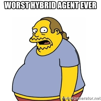 Comic Book Guy Worst Ever - worst hybrid agent ever