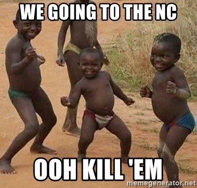 Dancing African Kid - we going to the NC ooh kill 'em