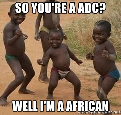 Dancing African Kid - so you're a adc? well i'm a african
