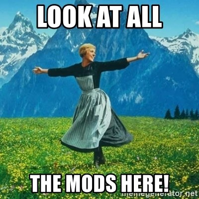 Look at All the Fucks I Give - LOOK AT ALL THE MODS HERE!