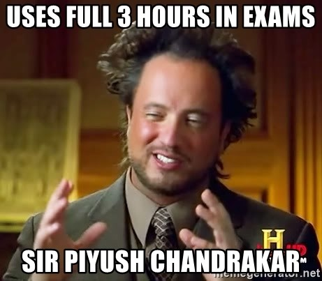 Ancient Aliens - USES FULL 3 HOURS IN EXAMS SIR PIYUSH CHANDRAKAR