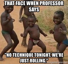 """african children dancing - that face when professor says """"no technique tonight. We're just rolling."""""""