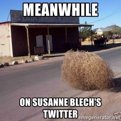 Tumbleweed - meanwhile  on Susanne Blech's Twitter