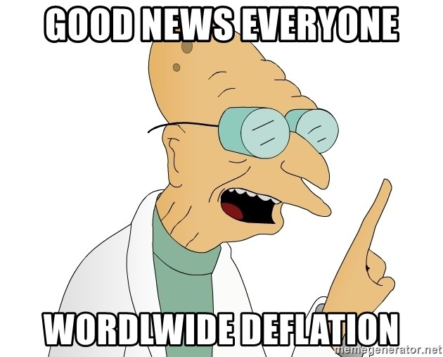 Good News Everyone - Good News Everyone wordlwide deflation
