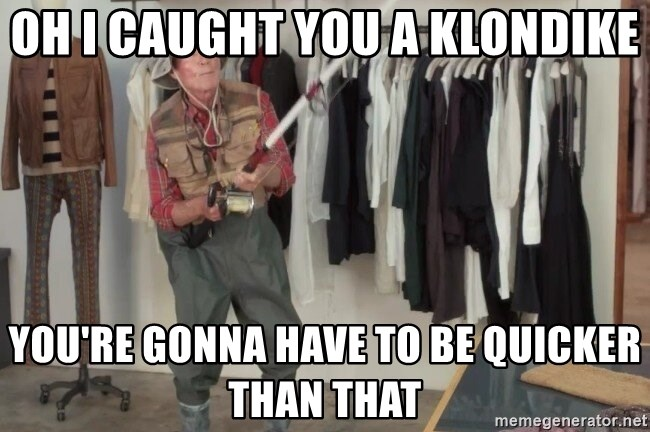 State Farm Fisherman - Oh i caught you a klondike you're gonna have to be quicker than that