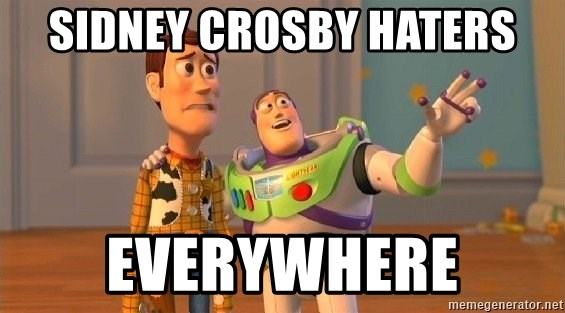 Consequences Toy Story - Sidney Crosby Haters Everywhere