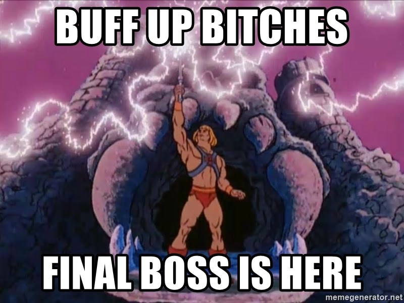 He-man-gray - Buff up bitches final boss is here