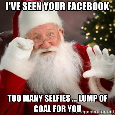 Facebook selfies too many on Are You