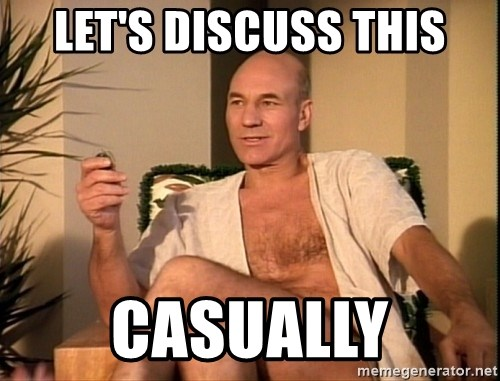 Sexual Picard - Let's discuss this casually