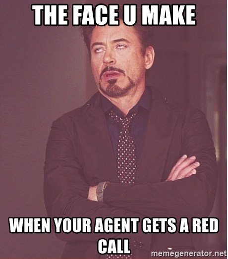 Robert Downey Junior face - the face u make when your agent gets a red call