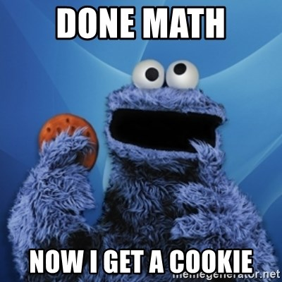 Cookie Monster Desktop - Done Math  Now I get a cookie