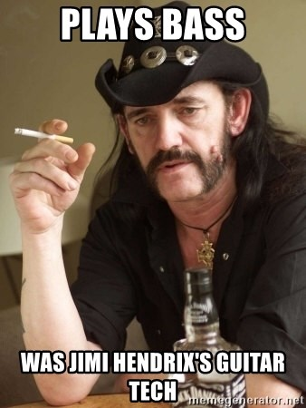 Lemmy Bass Meme