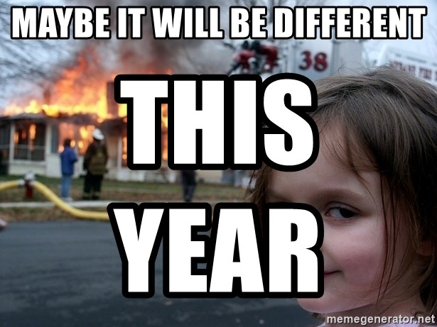 Disaster Girl - Maybe it will be different This year