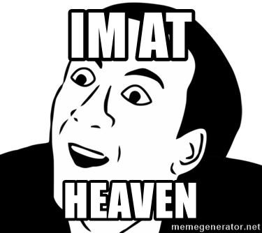 nicholas cage you dont say - im at heaven