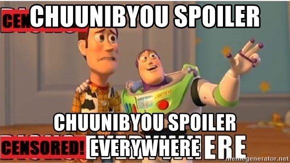 Toy Story Everywhere - chuunibyou spoiler chuunibyou spoiler everywhere