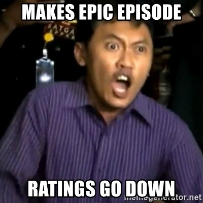 DEMI TUHAN - makes epic episode ratings go down