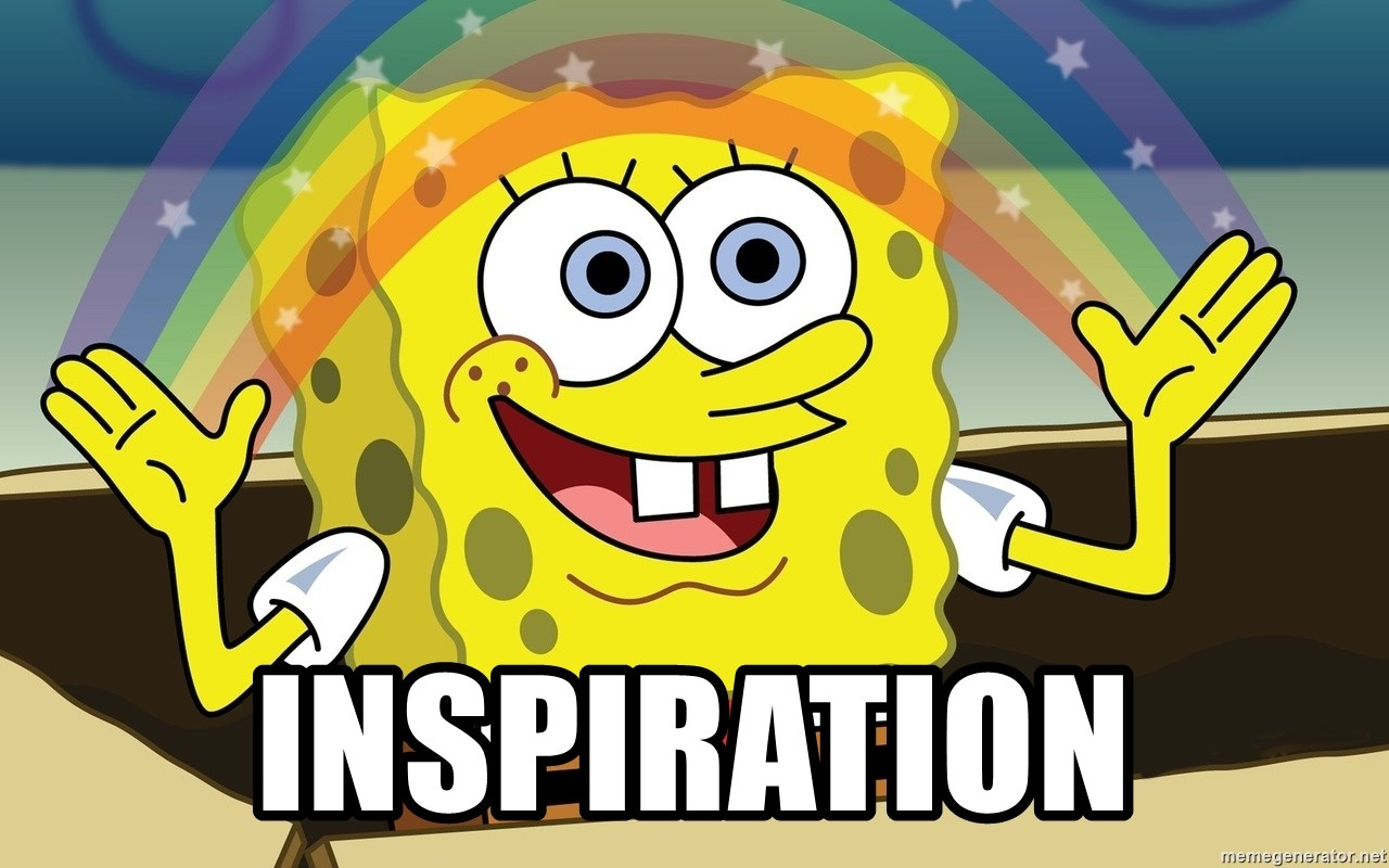 Spongebob Imagination meme - INSPIRATION