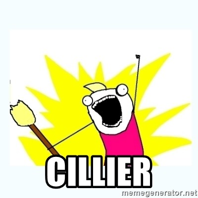 All the things -  cillier