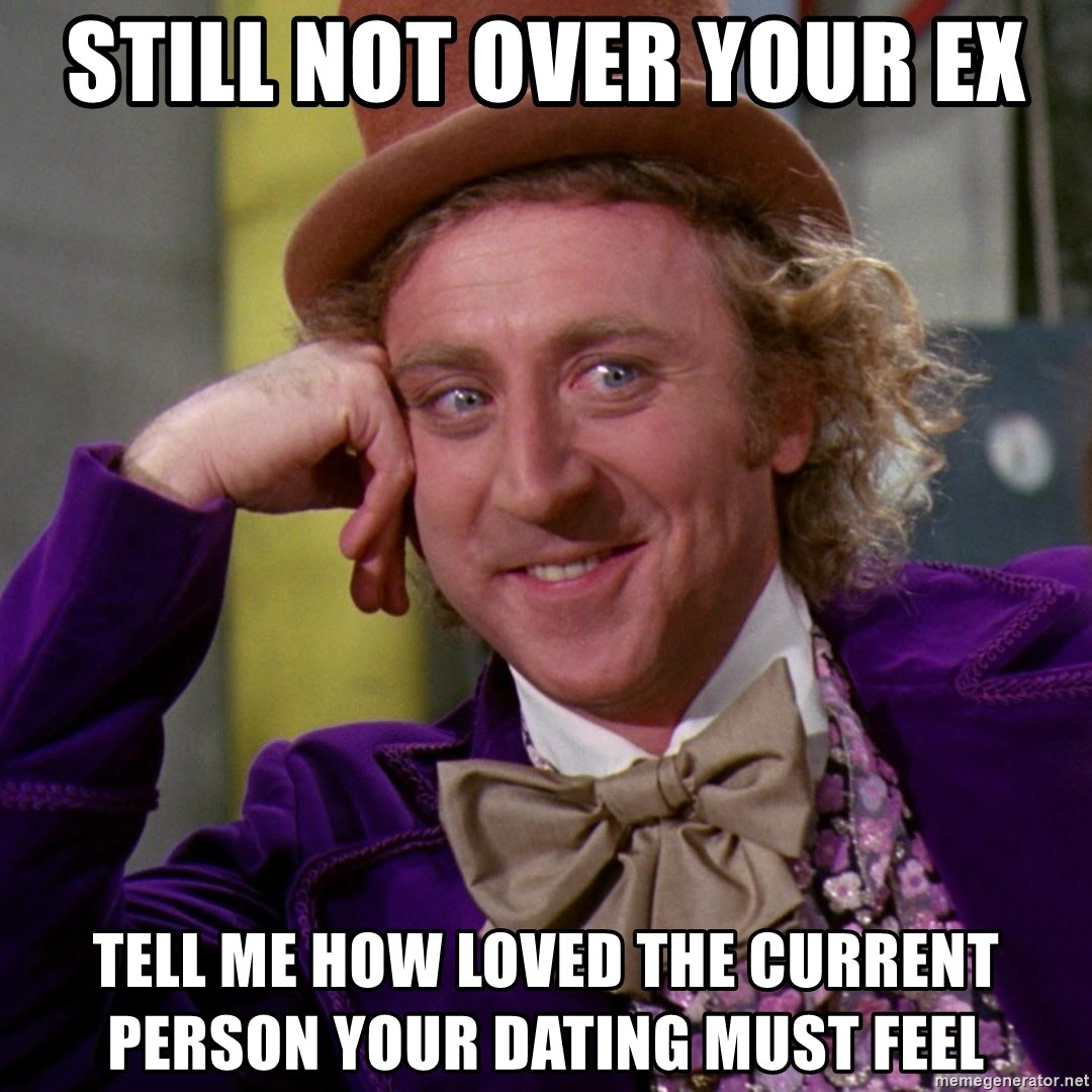dating a man that is not over his ex