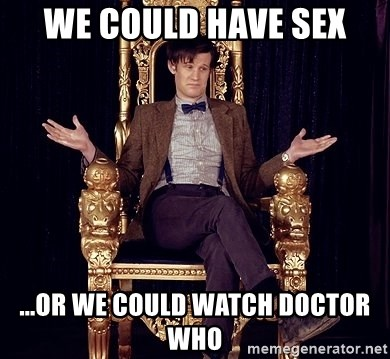 Think, dr who sex thanks You