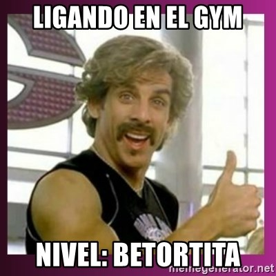 Globo Gym - ligando en el gym nivel: betortita