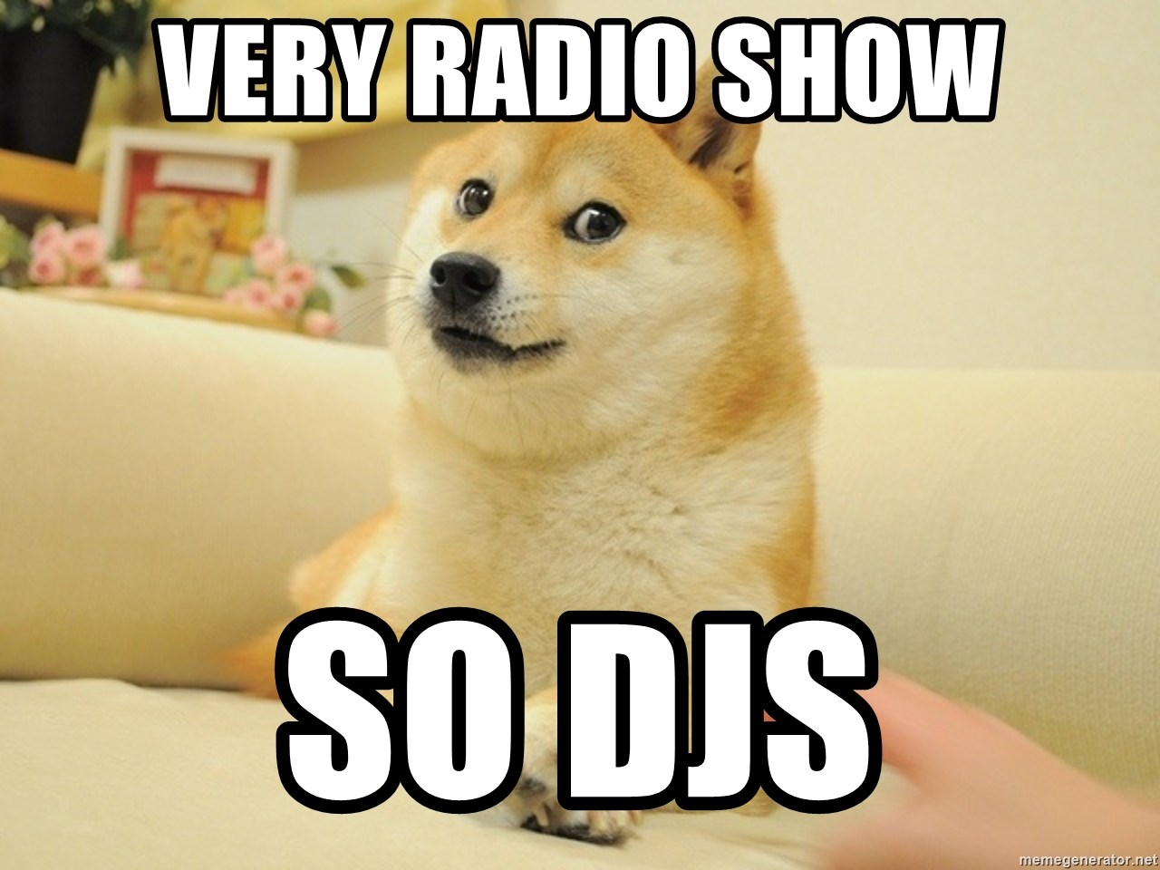 so doge - very radio show so Djs