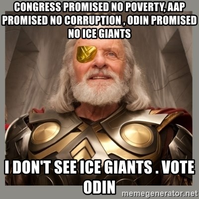 Odin ice giants meme
