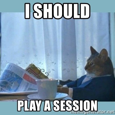 rich cat  - I SHould play a session
