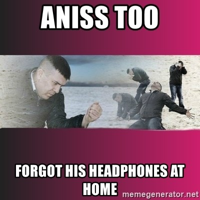 Dramatic Dmitri - ANISS TOO FORGOT HIS HEADPHONES AT HOME