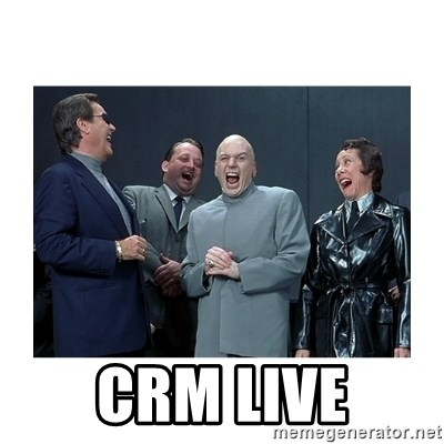 Dr. Evil Laughing -  CRM Live