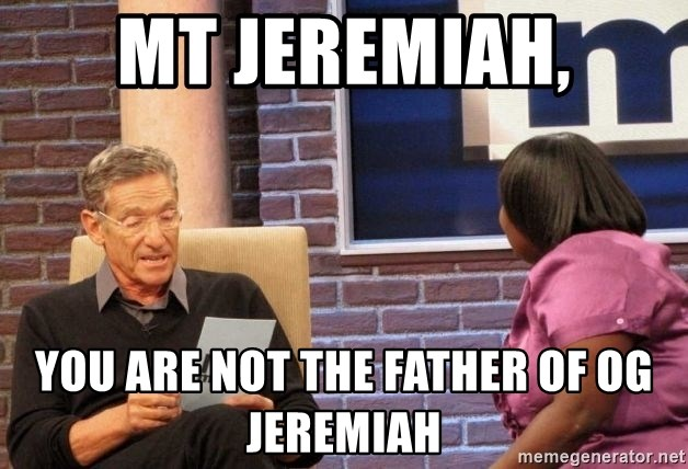 Maury Lie Detector - Mt Jeremiah, You are not the father of OG Jeremiah