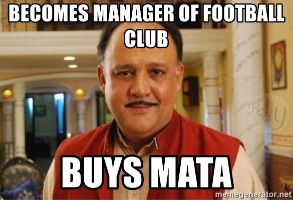 Sanskari Alok Nath - Becomes manager of football club BUYS MATA