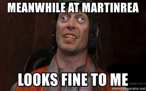 Crazy Eyes Steve - meanwhile at martinrea  looks fine to me