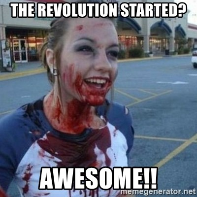 Scary Nympho - The revolution started? Awesome!!