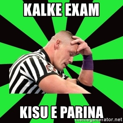 Deep Thinking Cena - kalke exam kisu e parina