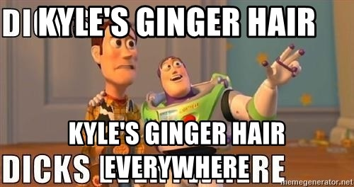 Xx Everywhere - kyle's ginger hair kyle's ginger hair everywhere
