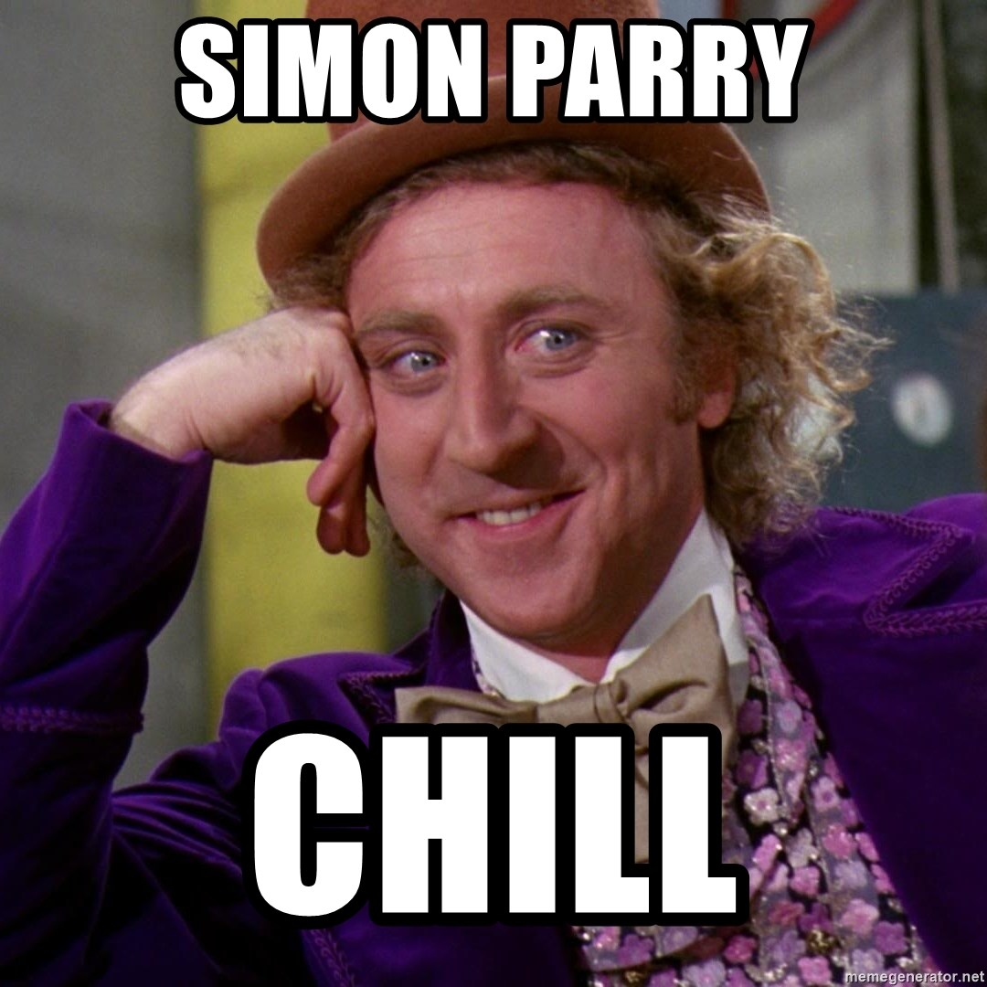 Willy Wonka - SIMON PARRY chill
