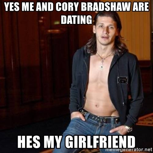 Pantela - yes me and cory bradshaw are dating hes my girlfriend