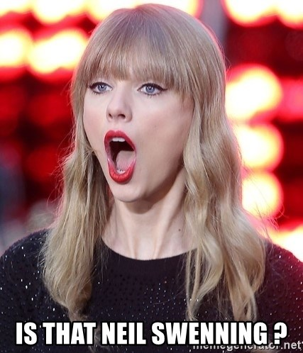 Taylor Swift WOW!! - is that Neil Swenning ?